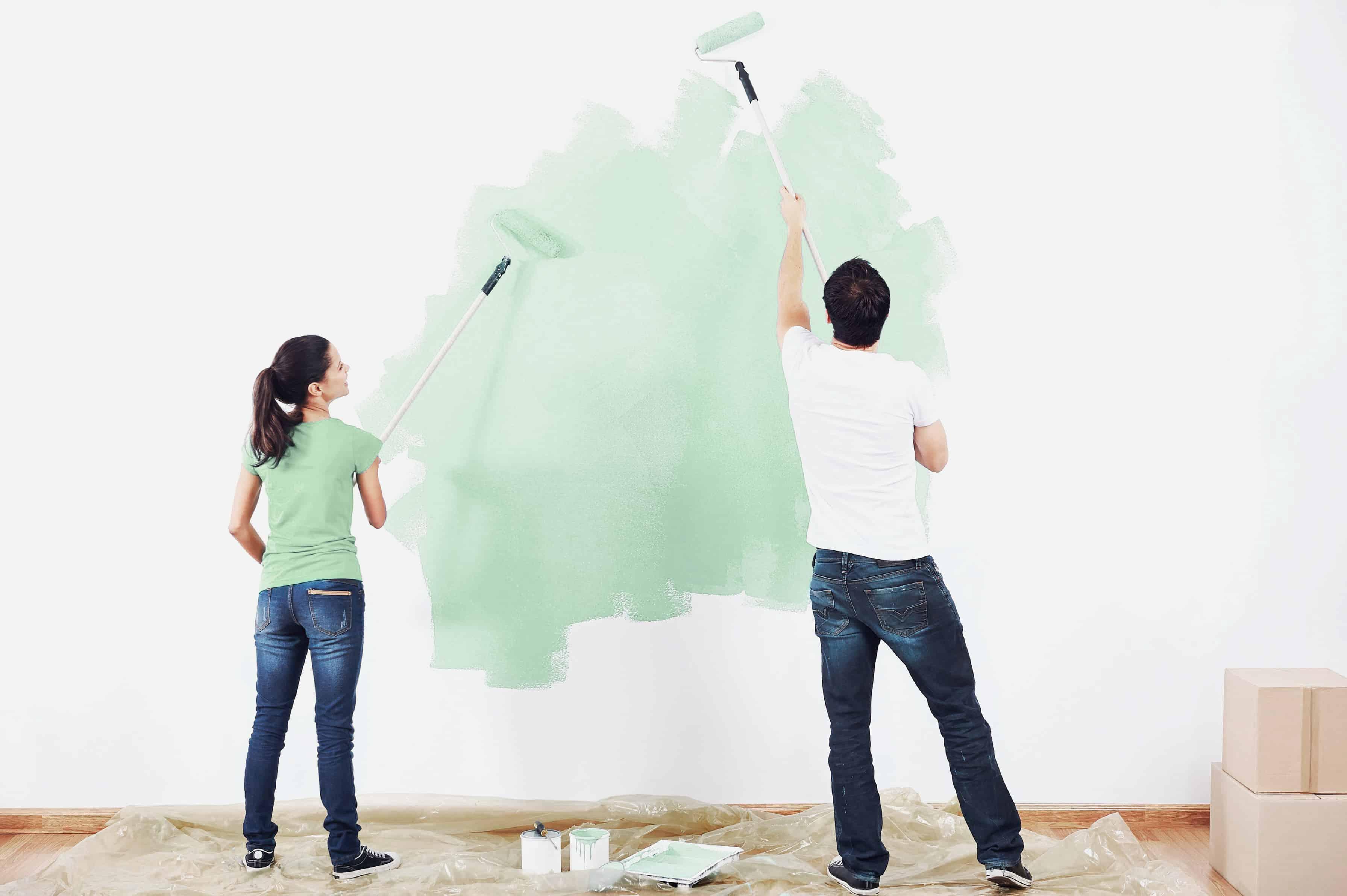 Diez trucos para pintar paredes como un profesional houselab - Trucos para empapelar paredes ...